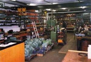 Atelier électrique Etablissement Schwoob : bobinage