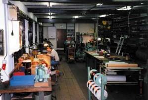 Atelier électrique Etablissements Schwoob : bobinage
